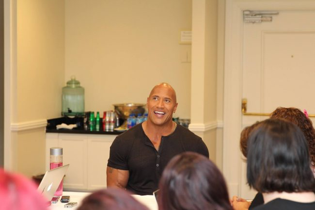 Dwayne Johnson Samoan Maui #MoanaEvent