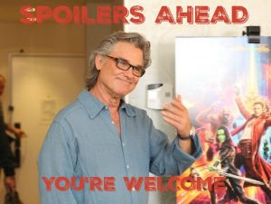 With Kurt Russell & his Role as Ego on Guardians of the Galaxy Volume 2 SPOILERS GALORE! Do NOT Read Until You've Seen the Movie!