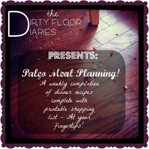 Paleo Meal Planning, how to plan meals, paleo food for a week, Paleo Diet, Primal Diet