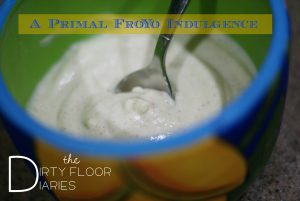 Primal Frozen Yogurt, a quick recipe