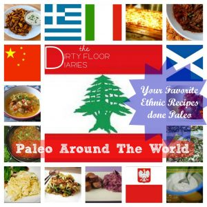 Paleo Meal Plan with Ethnic Foods as the star