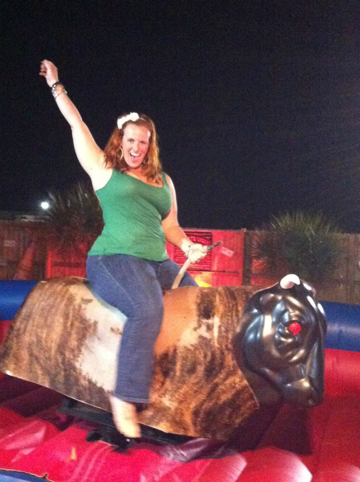 Ride the Mechanical Bull at Coyote Ugly in Destin, FL