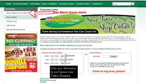 Harris Teeter Express Lane Online Shopping