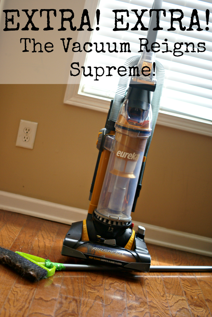 Having clean floors is totally possible with #EurekaPower. #shop this awesome vacuum at a Walmart near you!