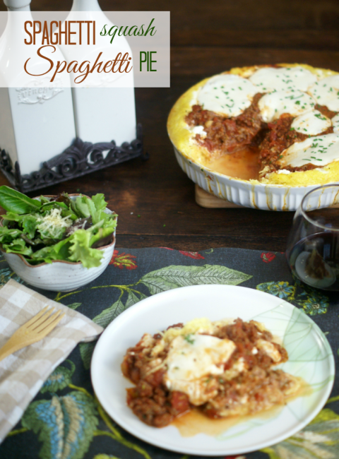 A classic childhood favorite made with low-carb Spaghetti Squash. Gluten-free, Grain-free, PCOS Diet approved, Primal approved deliciousness right here, folks.