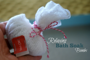 Steeping Bath Bombs