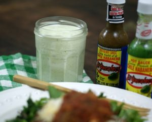 Avocado Habanero Ranch Salad Dressing