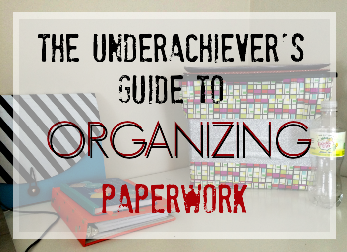 You don't have to be Type-A to be organized! Find out how to #AddSparkle to your life and your desk - the underachiever's way. #shop