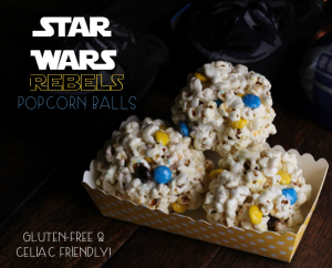 Life & Star Wars & Celiac & Rebel Popcorn Balls {Recipe}
