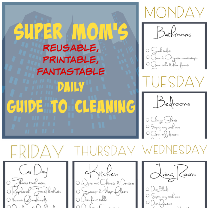 Cleaning Doesn T Have To This Printable Guide Can Be Printed
