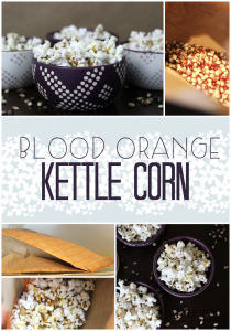 Blood Orange Kettle Corn {Recipe} & The Funniest Thing That I Ever Did See