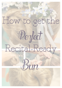 The Perfect Ballet Bun {Tutorial} & What to do With all That Hair