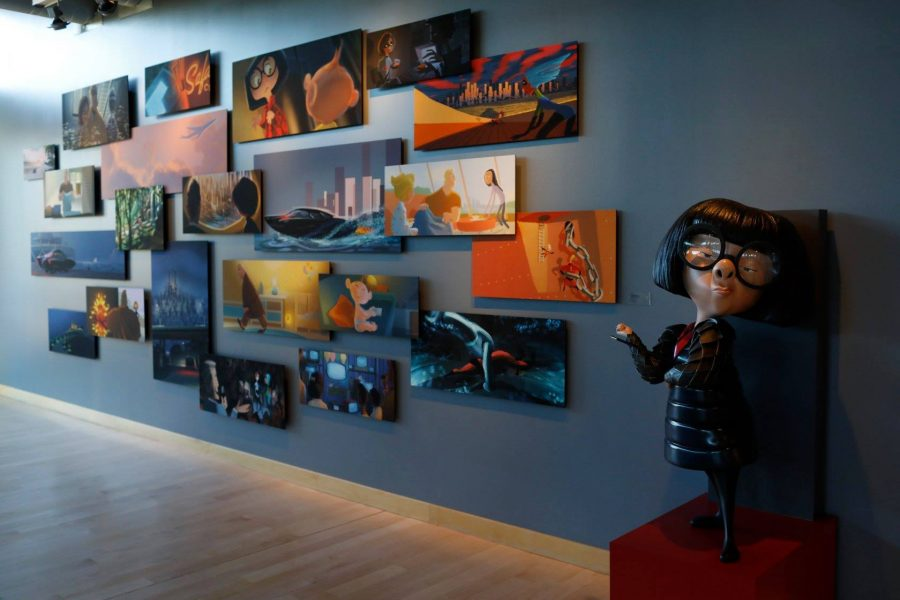 Incredibles 2 pixar animation studios tour