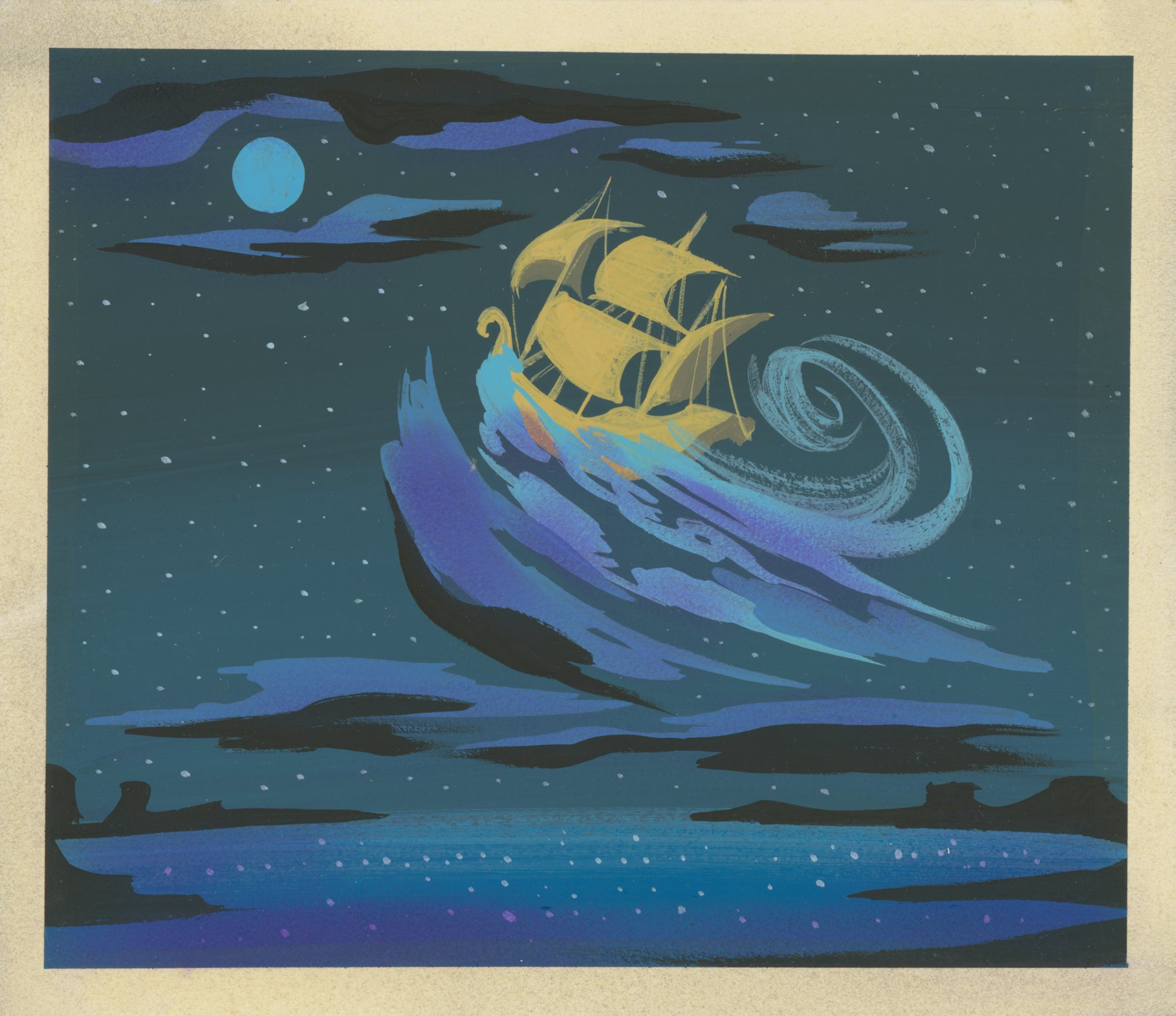Disney Animation Research Library Peter Pan Artwork