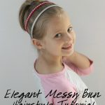 Elegant Messy Bun Hairstyle Tutorial for Little Girls