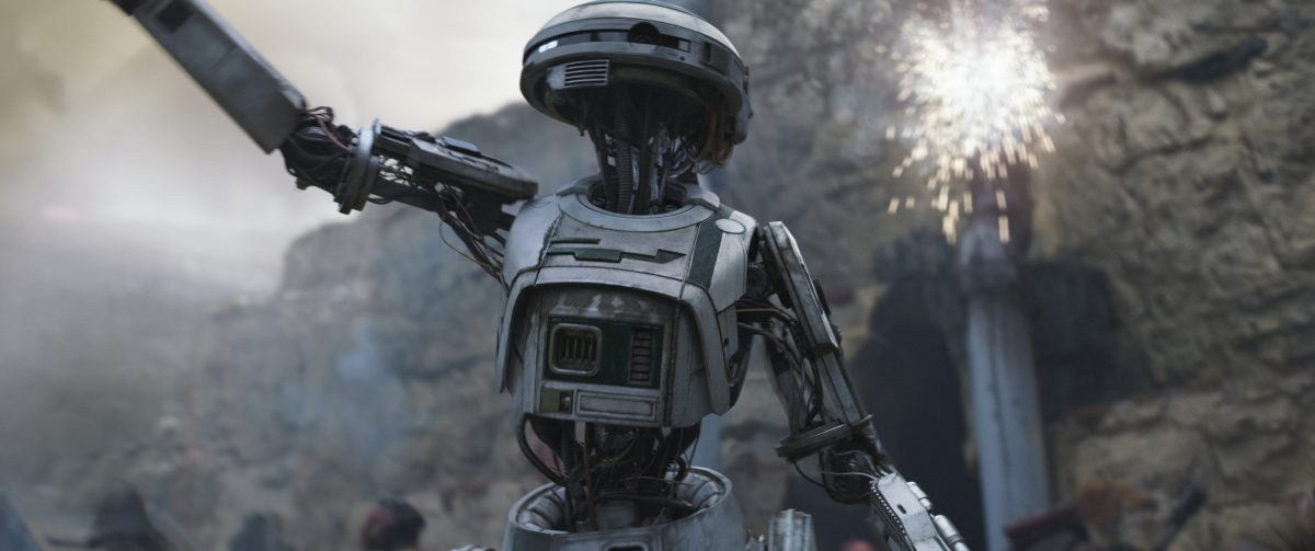 L3-37 new droid in Star Wars