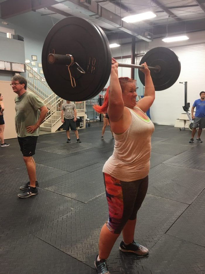 bodies of crossfit, crossfit beginner, thruster