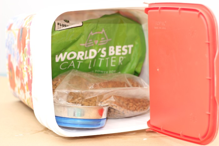 DIY bin to hide cat food, World's Best Cat Litter, Is world's best cat litter really the best cat litter?