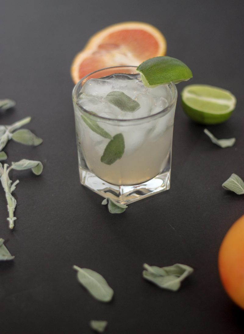 grapefruit and gin cocktail