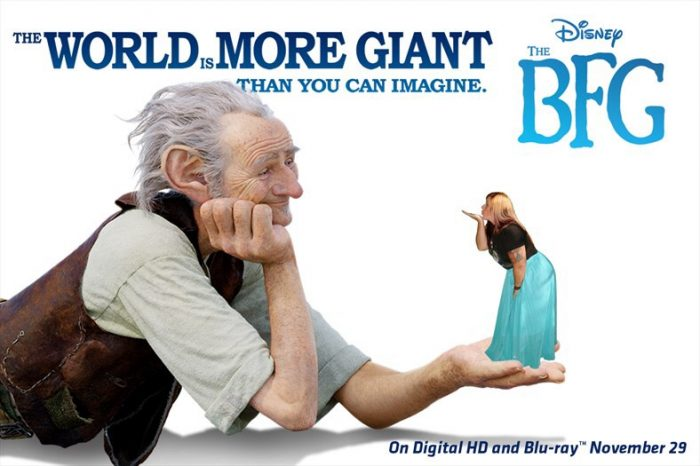 The BFG on DVD BluRay