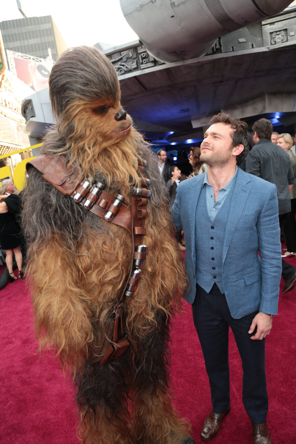 Chewbacca Actor Star Wars Solo Joonas Suotamo