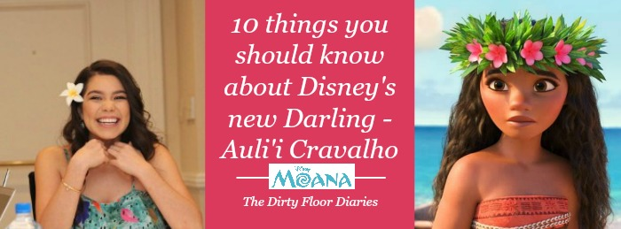 who is Auli'i Cravalho? Moana