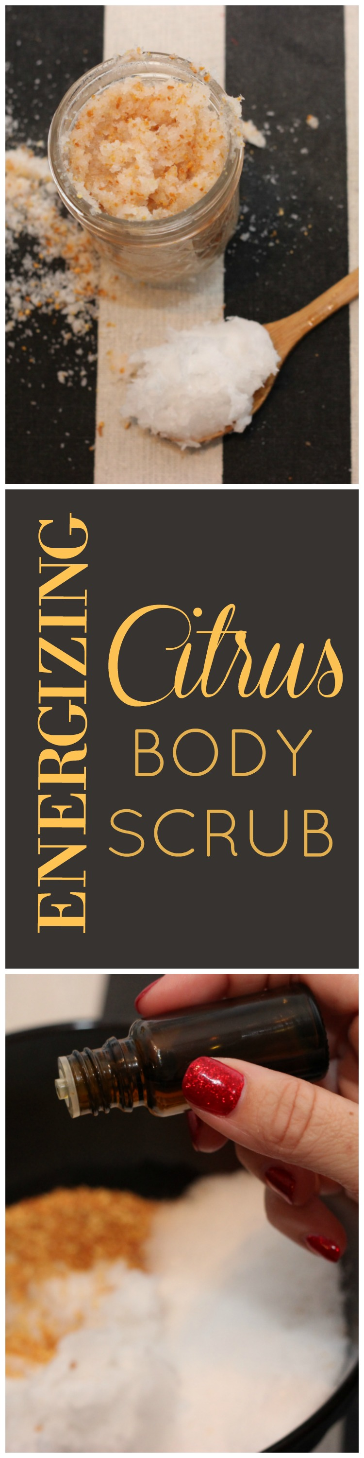 Citrus body scrub, organic tampons, grapefruit body scrub, how to get soft legs when you shave