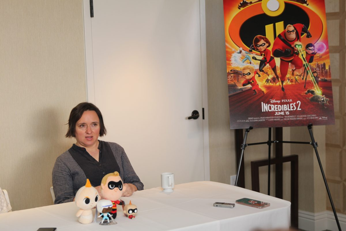 Huck Milner, Sarah Vowell, who plays the voice of Dash in Incredibles 2, who plays the voice of Violet in Incredibles