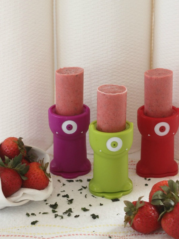 strawberry basil ice pops viva vantage towels