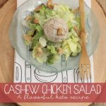 Cashew Chicken Salad Recipe