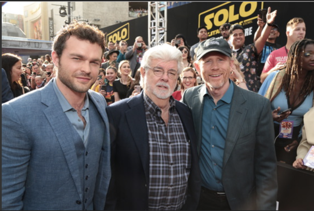 Ron Howard Director: Solo: A Star Wars Story George Lucas, Alden Eherenreich, Ron Howard