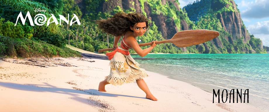 The voice of moana