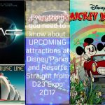 D23 Expo Parks announcements