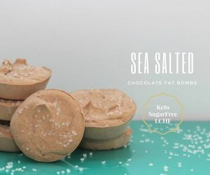 Sea Salted Chocolate Fat Bomb & (a lesson in getting your nutrients)